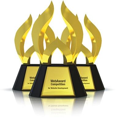 WebAward Trophy