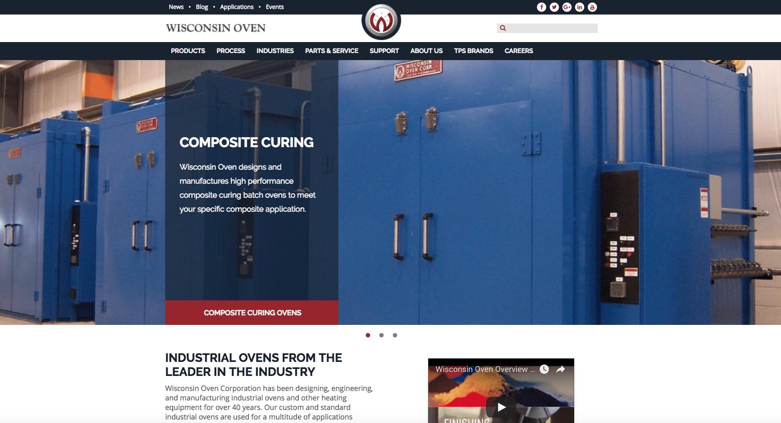 Wisconsin Oven Homepage