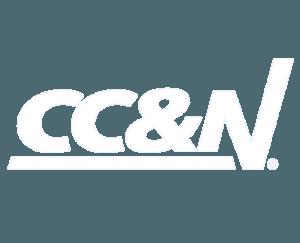 CC&N white logo