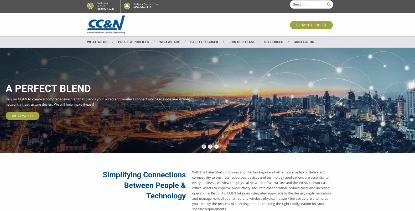 CC&N Homepage