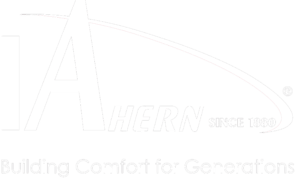 JF Ahern white logo