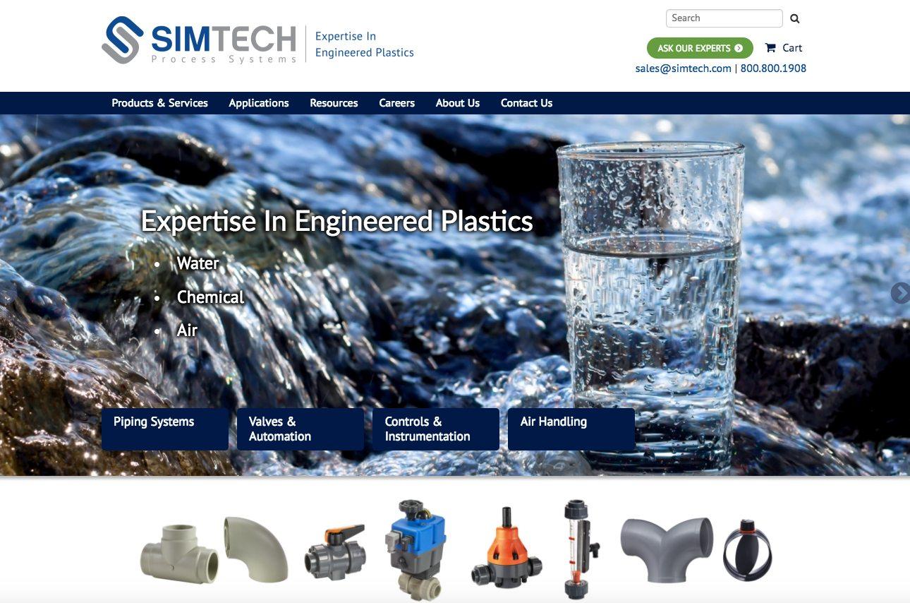 Simtech homepage