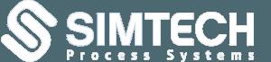 Simtech white logo