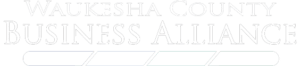 Waukesha County Business Alliance white logo