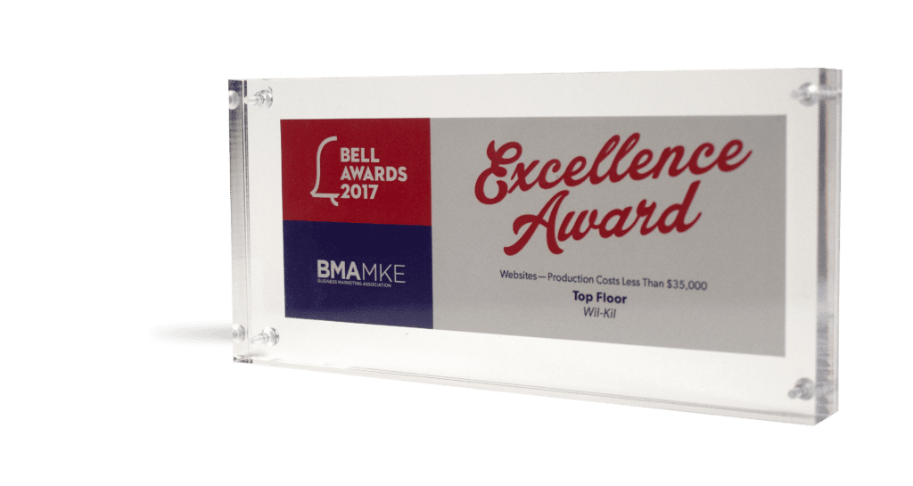 BMA MKE Bell Excellence Award Wi-Kil
