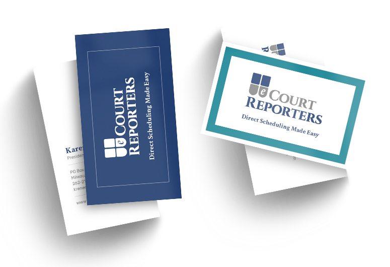 eCourt Reporter Business Card
