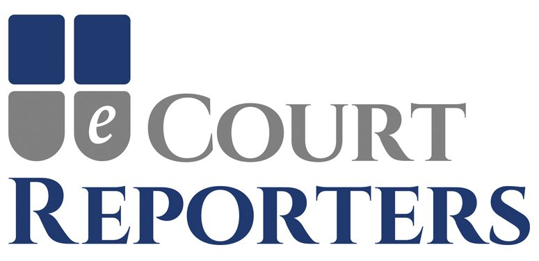 eCourt Reporter logo