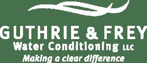 Guthrie & Frey Logo White
