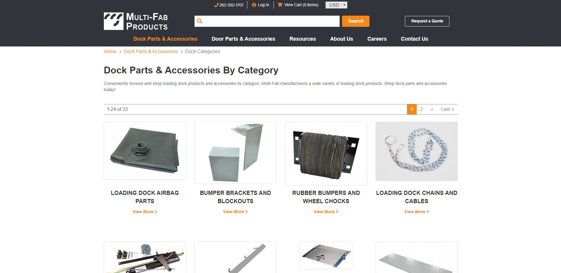 Multi Fab Category Page