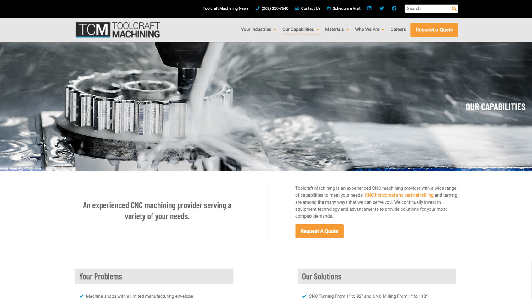 Toolcraft capabilities page
